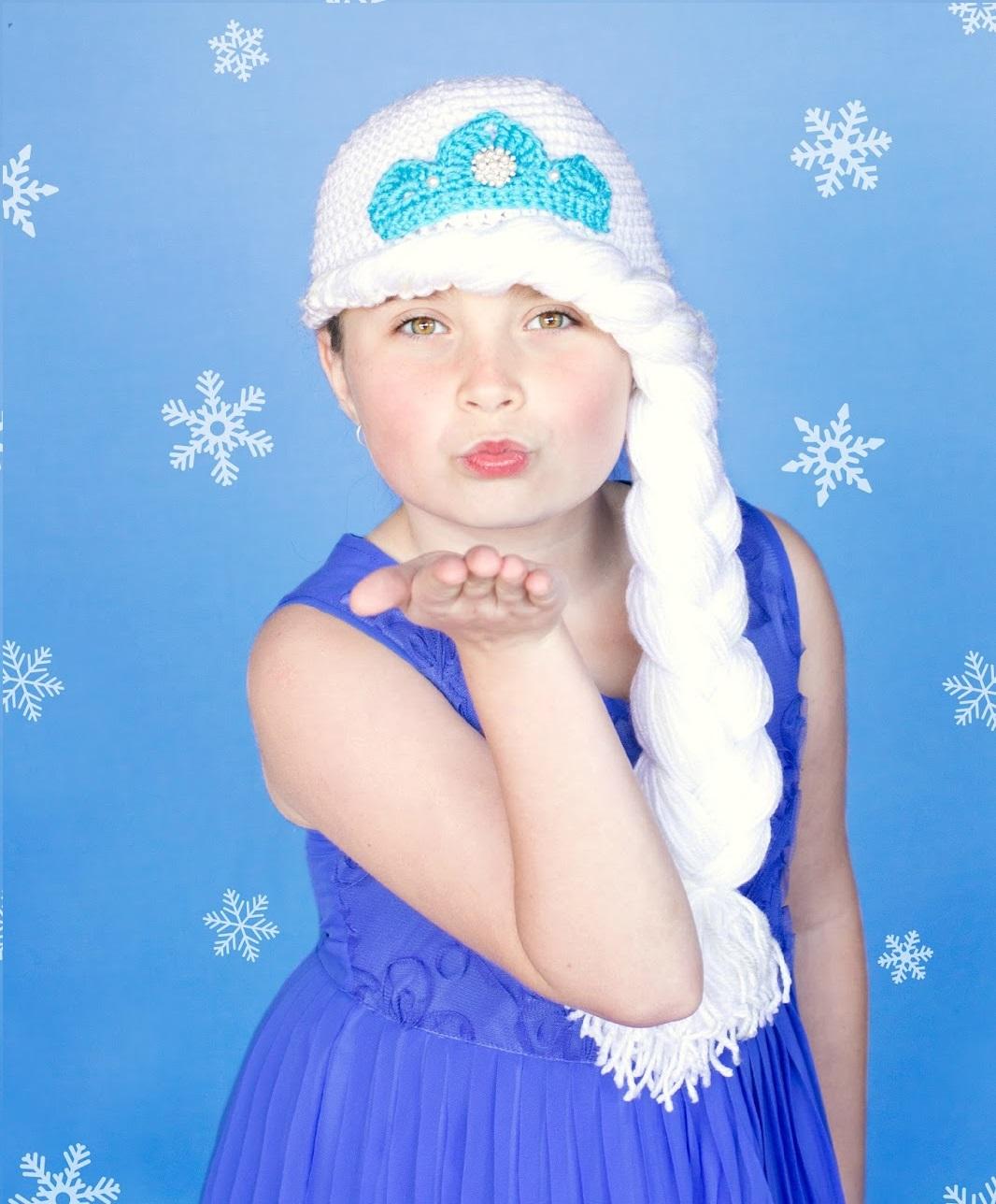 Frozen's Princess Elsa Inspired Hat