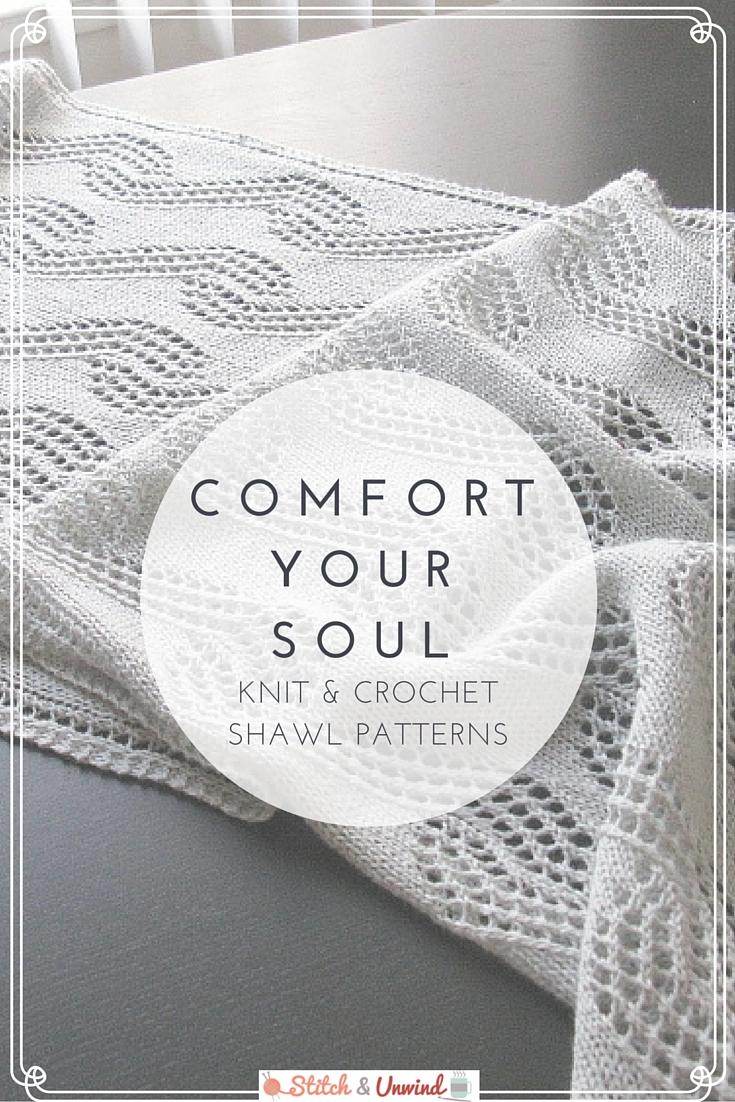 Knit and Crochet Shawl Patterns
