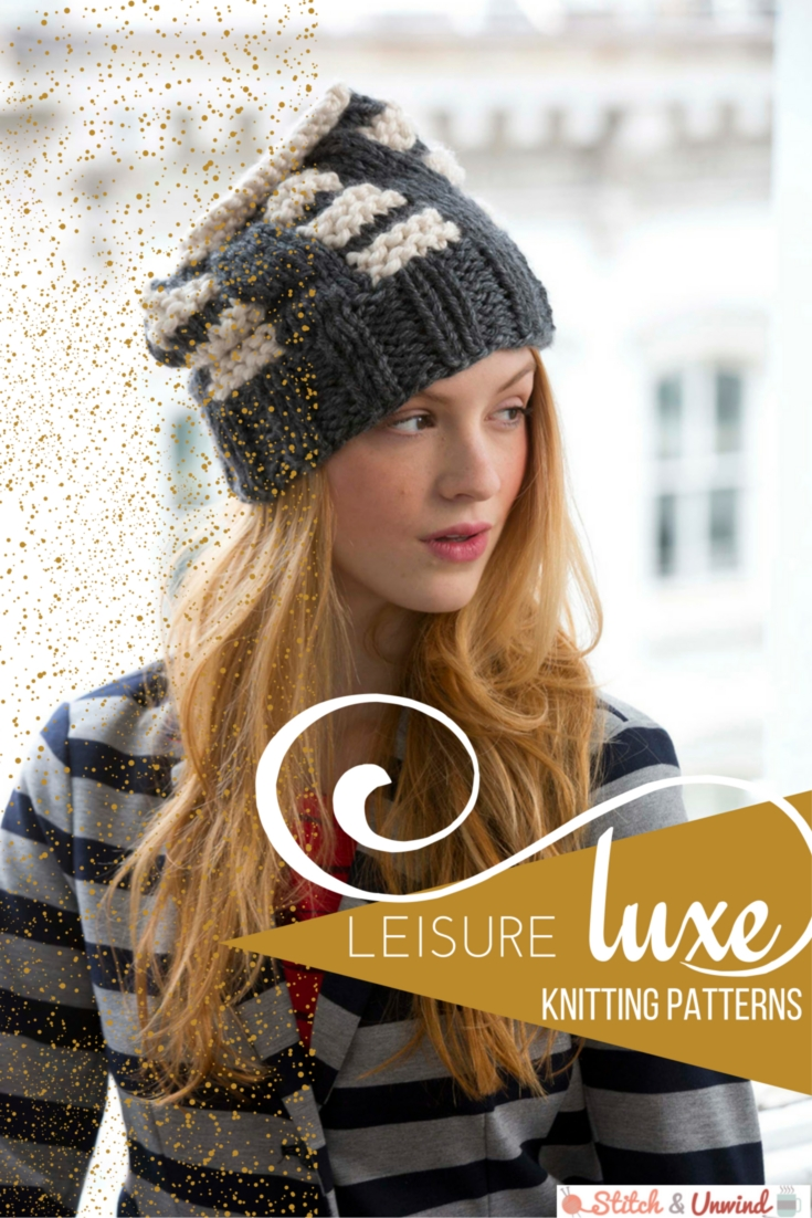 Leisure Luxe Knitting Patterns