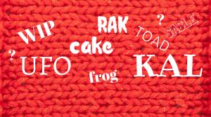 knitter slang