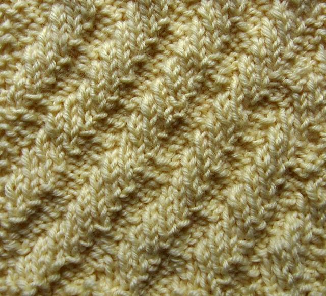 Slip Stitch Knit Squares Together : Knitting Sampler Pillow, Part 3: Diagonal Rib - Stitch and Unwind