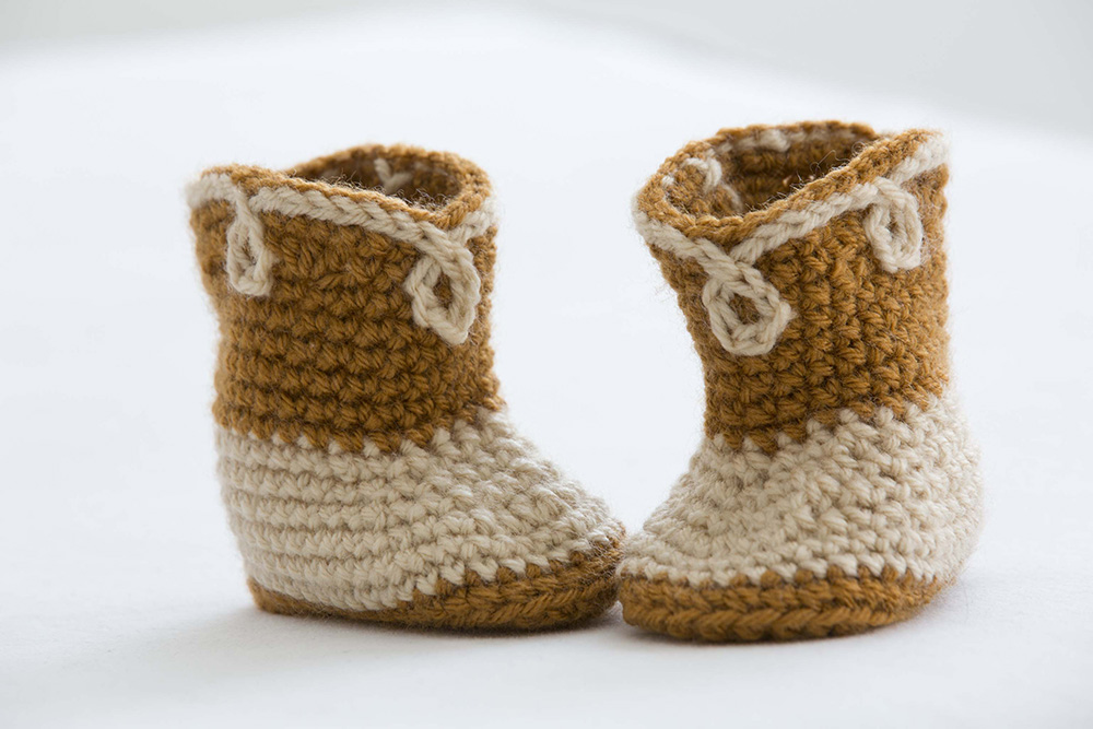 Crochet Baby Booties Giddy Up Cowboy Stitch And Unwind