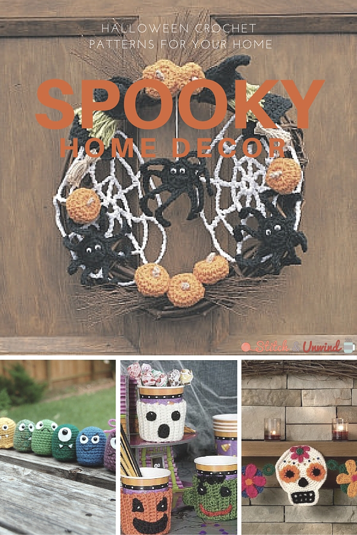 spooky halloween crochet patterns