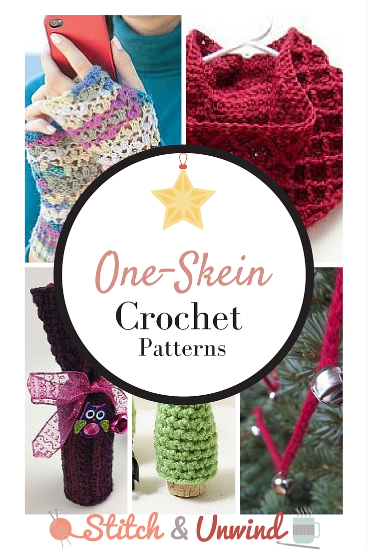 Tis\' (Almost) The Season: Decorating & Gift Giving One-Skein Crochet ...