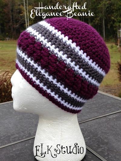Handcrafted Elegance Crochet Beanie