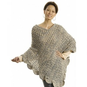 Oversize Lean Poncho