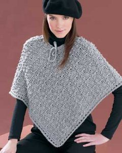 Perfectly Paris Crochet Poncho
