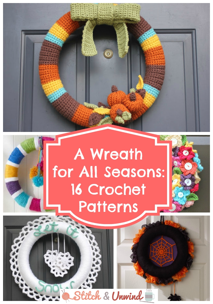 Wreath Crochet Patterns