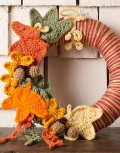 Thanksgiving Crochet Wreath