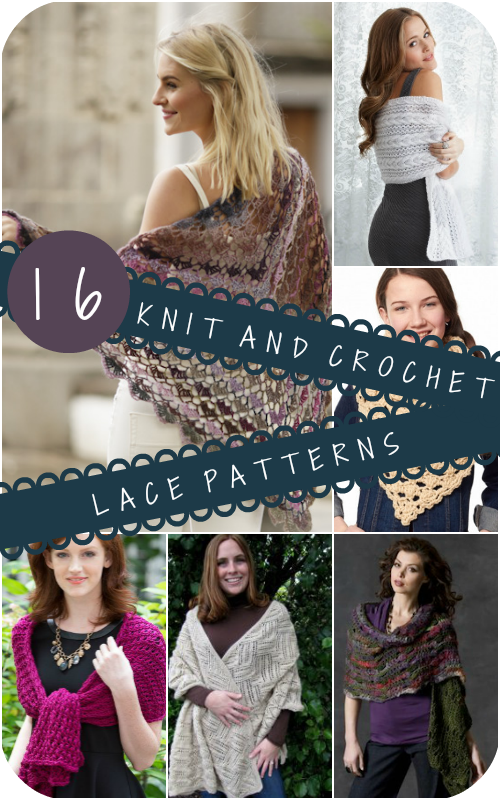 16 Free Knit And Crochet Lace Patterns Stitch And Unwind
