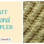 knit-diagonal