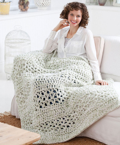 Easy Crochet Afghan