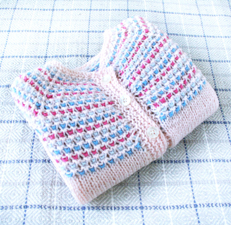 Dandy Knit Baby Cardigan