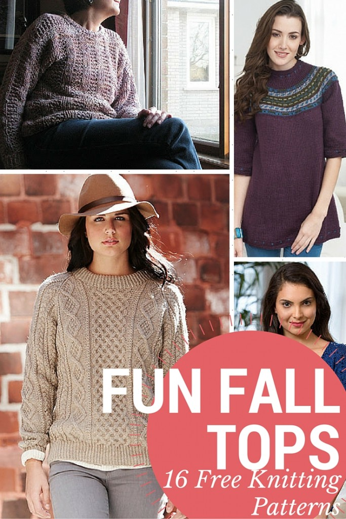 Fall Knit Tops
