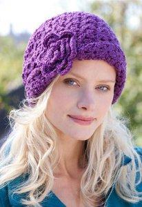 Crochet Flower Beanie