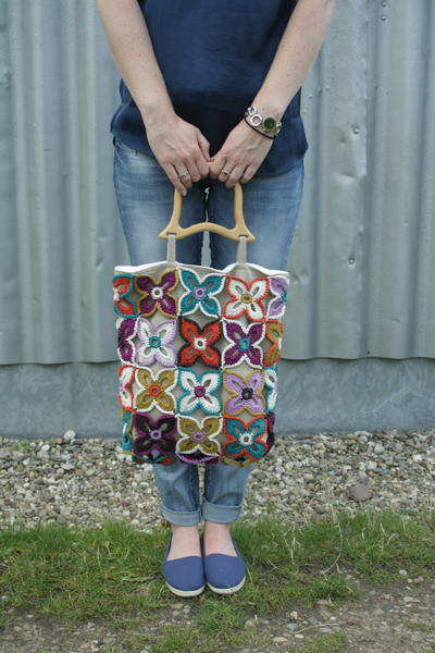 Crochet Flower Bag