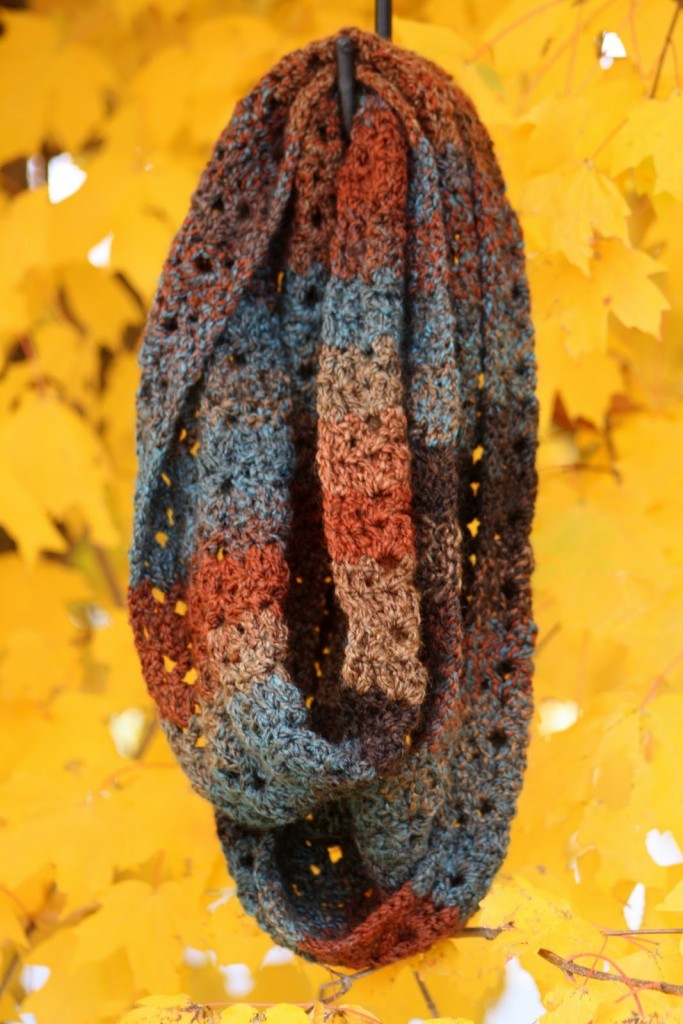 Autumn Crochet Scarf