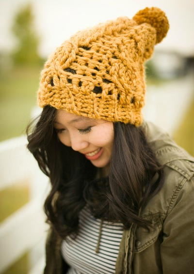 Women's Crochet Beanie Pattern