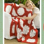 Crochet Afghan Patterns for the Holidays Featured