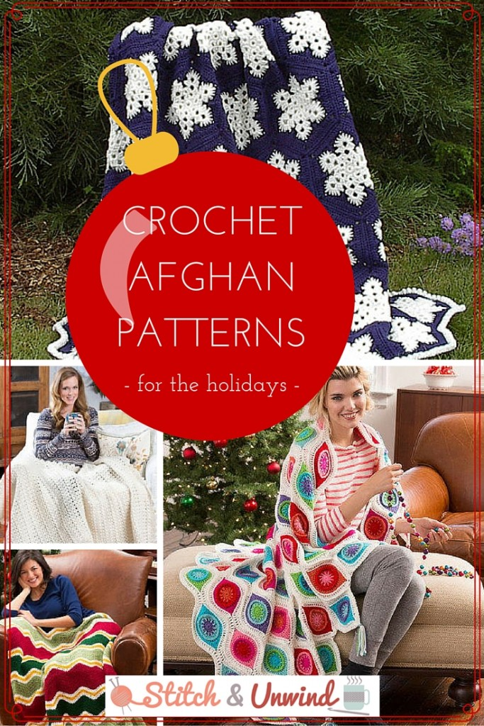 Crochet Afghan Patterns for the Holidays