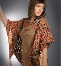 Loom Knit Shawl Pattern