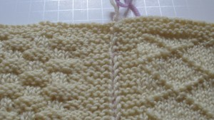 Mattress stitch tutorial by Marie Segares