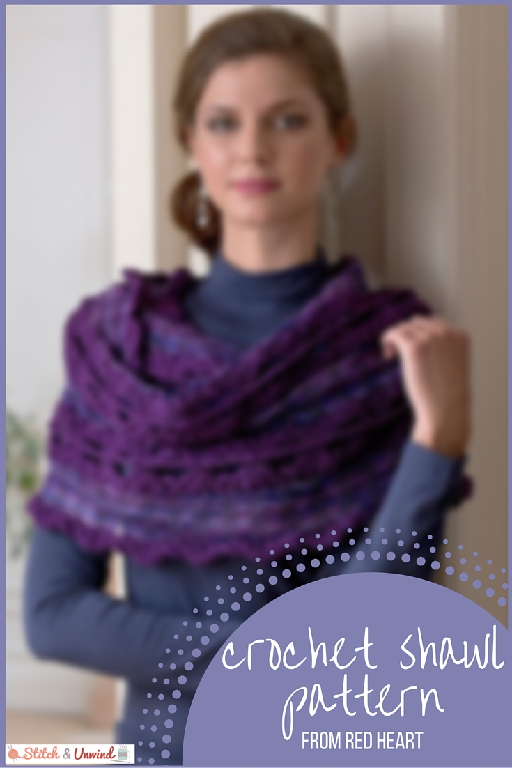 Free Pattern Friday Crochet Shawl Pattern From Red Heart Stitch