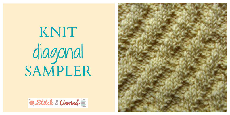 Knit Diagonal Sampler