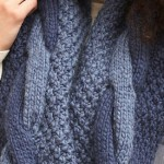 knit cowl pattern featured