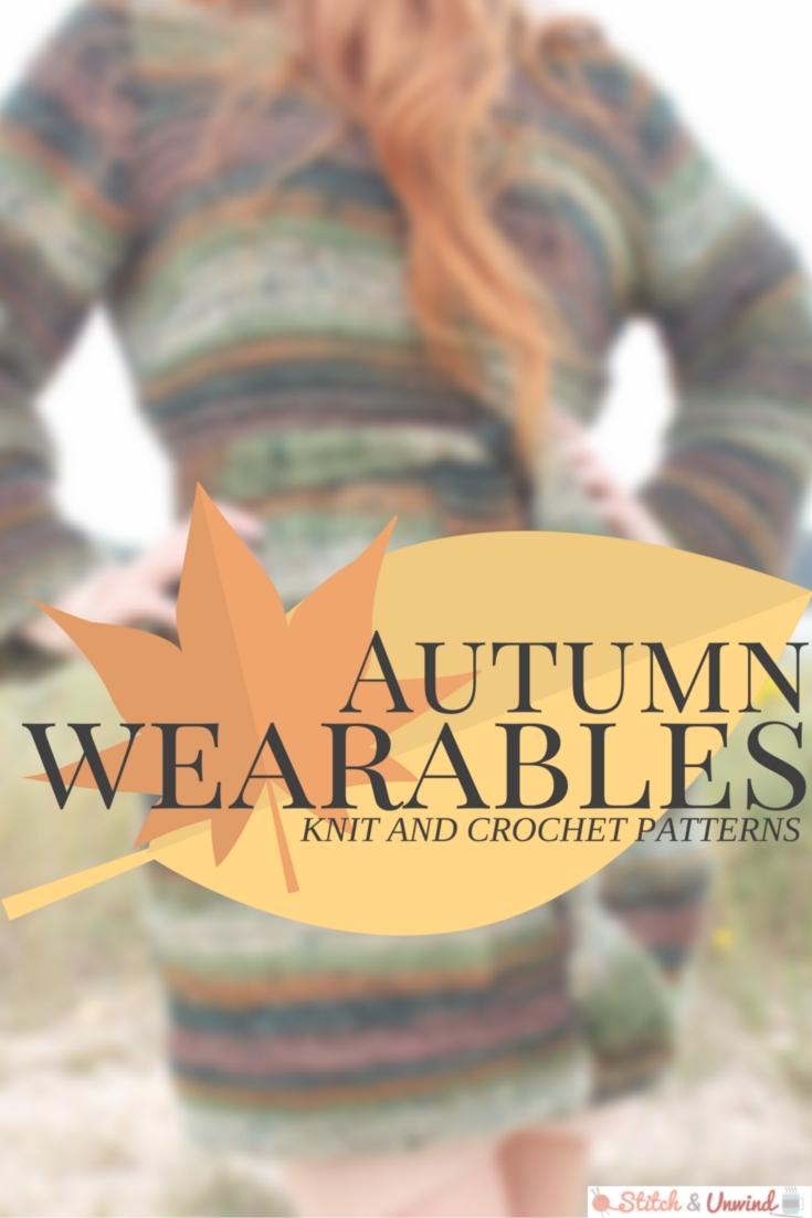 Fall Knit and Crochet Patterns