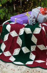 Christmas Star Crochet Afghan