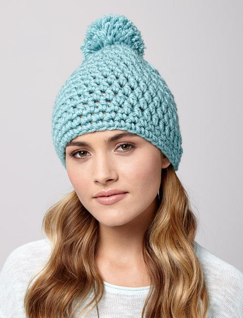 Snow Drift Crochet Hat