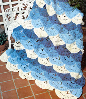 Lacy Shell Afghan Pattern