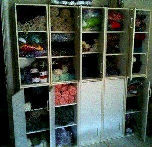 how to organize yarn