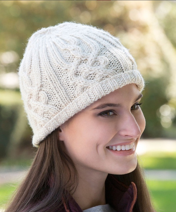 Free Pattern Friday Knit Beanie Pattern From Red Heart Stitch