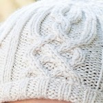 cabled beanie featured