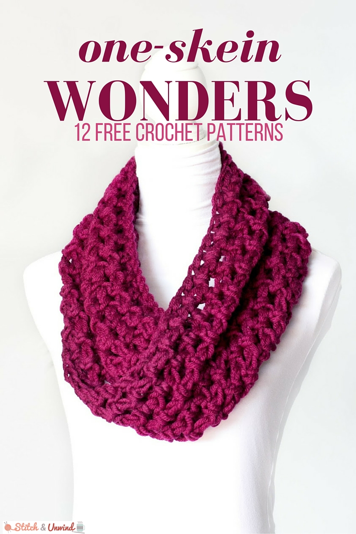 One-Skein Wonders: 12 Free Crochet Patterns - Stitch and ...