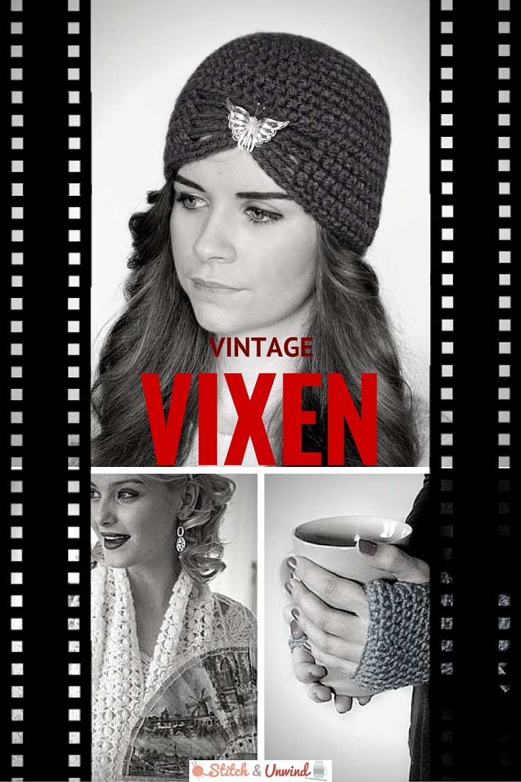 Vintage Vixen: 16 Stylish Crochet Patterns - Stitch and Unwind