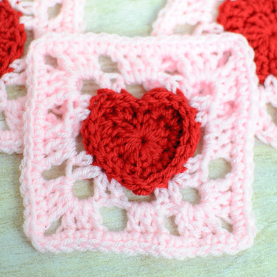 Heartful Granny Square