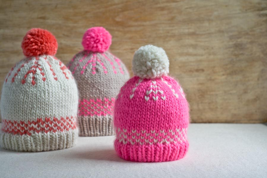 Knit Fair Isle Hat Tutorial - Stitch and Unwind