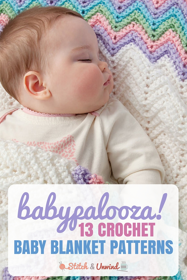 13 Crochet Baby Blanket Patterns