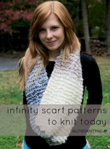 Knit Infinity Scarf Patterns
