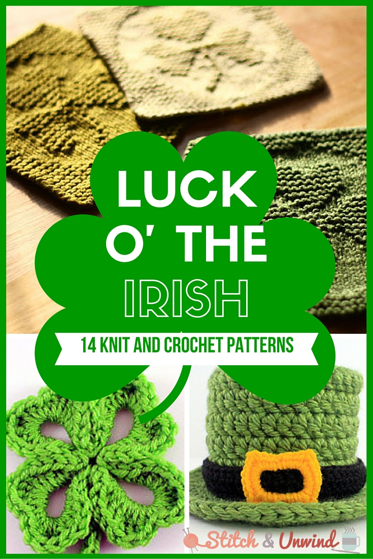 St. Patrick's Day Knit and Crochet Patterns