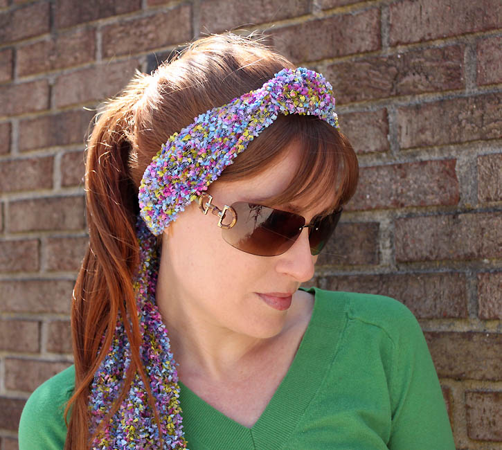 Butterfly Knit Headband