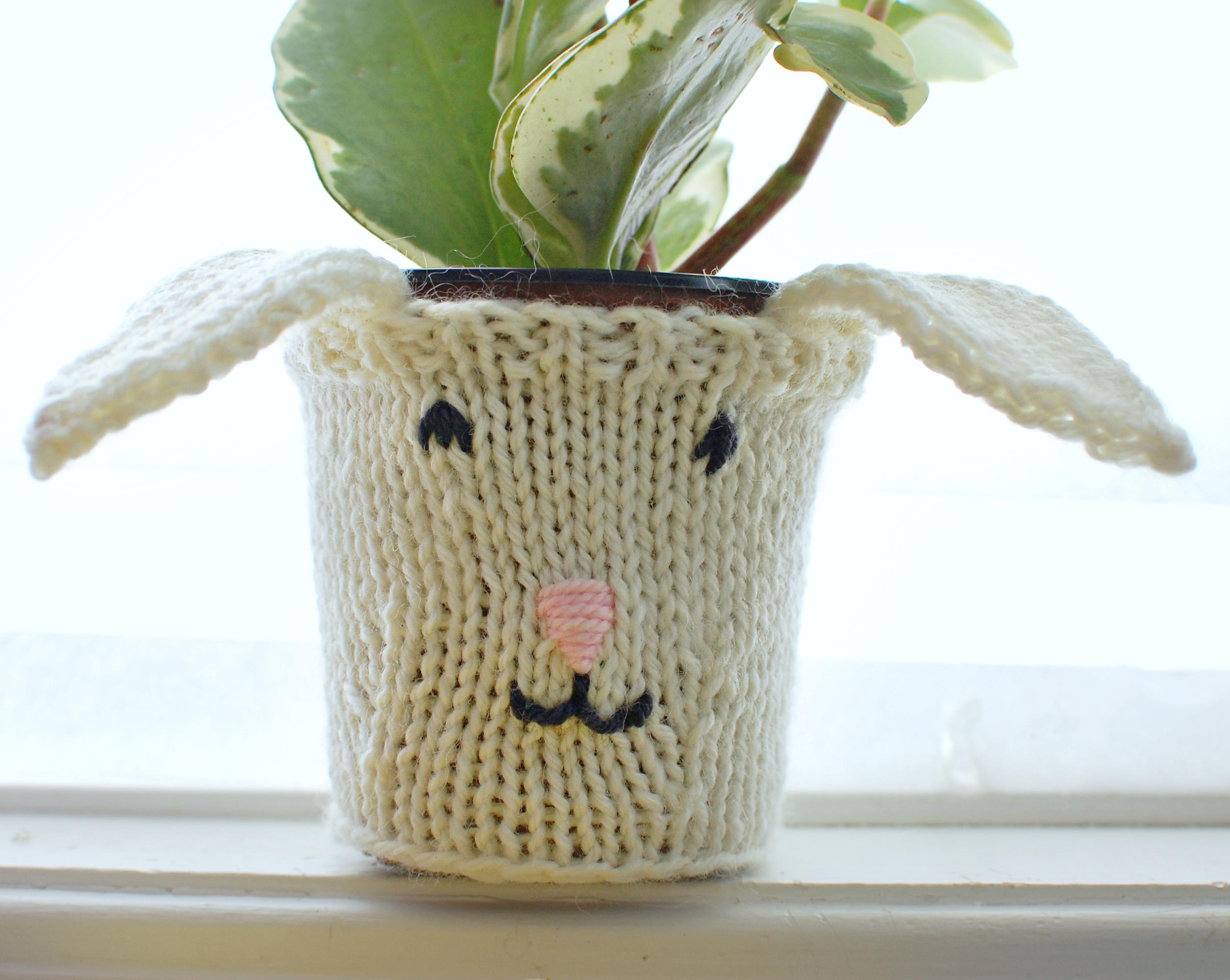 Bunny Plant Cozy