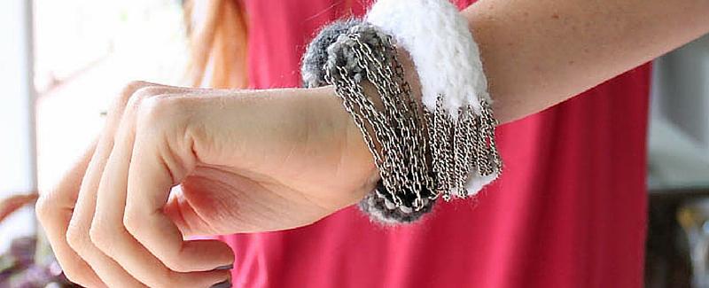 Knit Bracelet Tutorial