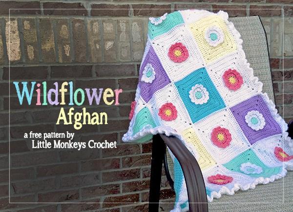 Wildflower Crochet Afghan
