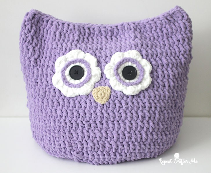 Crochet Owl Pillow Pattern