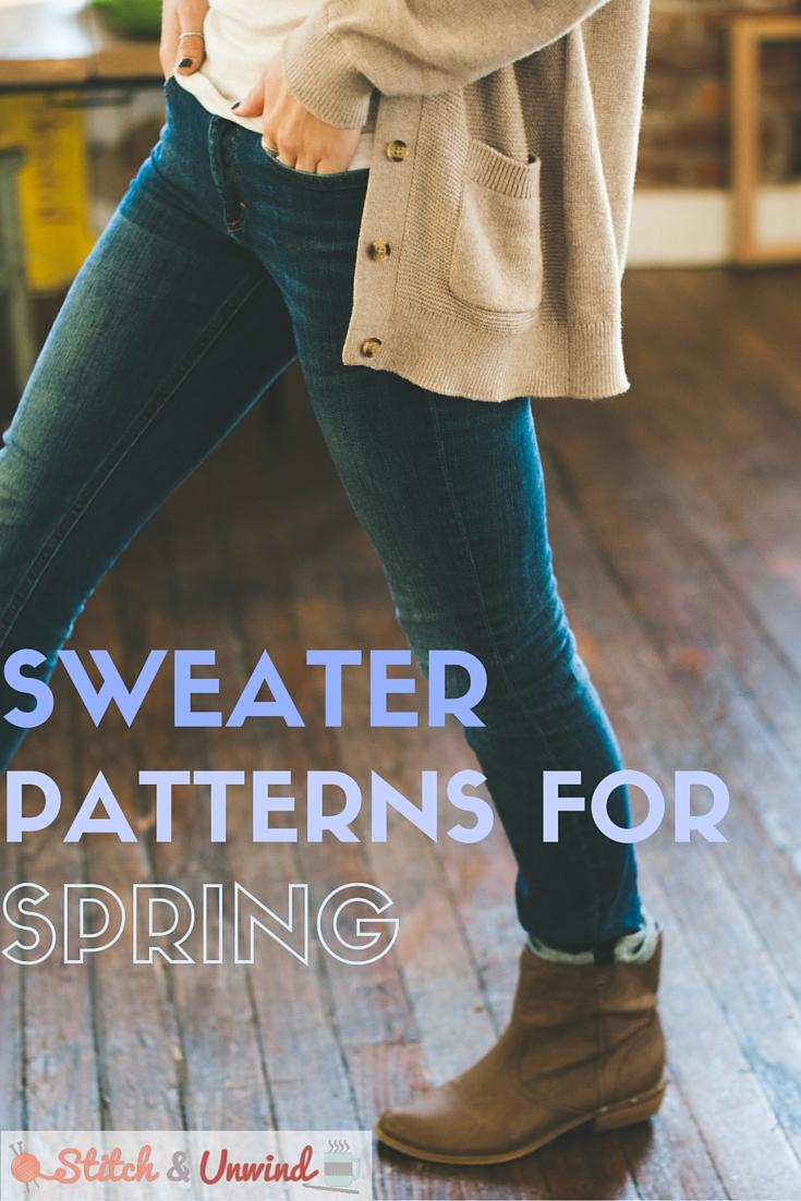 Crochet Sweater Patterns and Knit Sweater Patterns