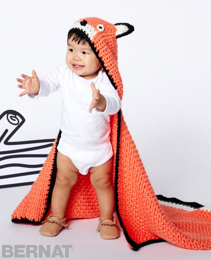 Free Pattern Friday: Feisty Fox Blanket from Yarnspirations! - Stitch ...